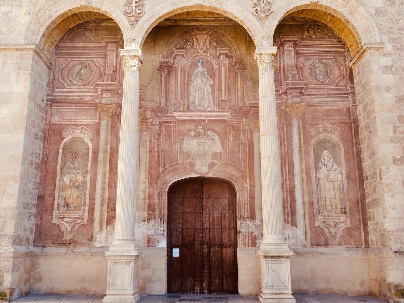 Santo Domingo Church Granada.