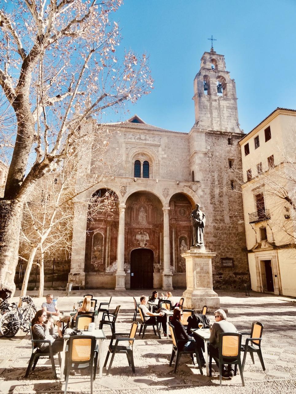 Santo Domingo Church Granada Spain.