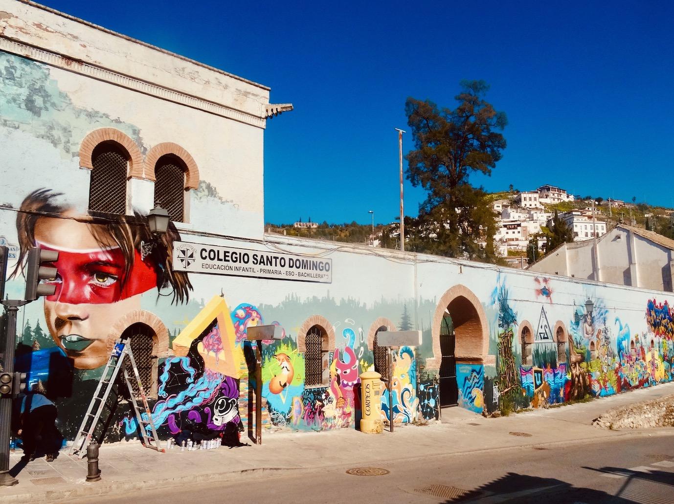 Santo Domingo School Granada.