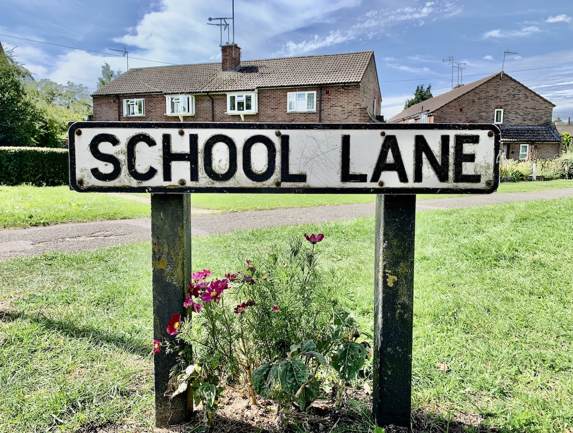 School Lane Old Amersham.