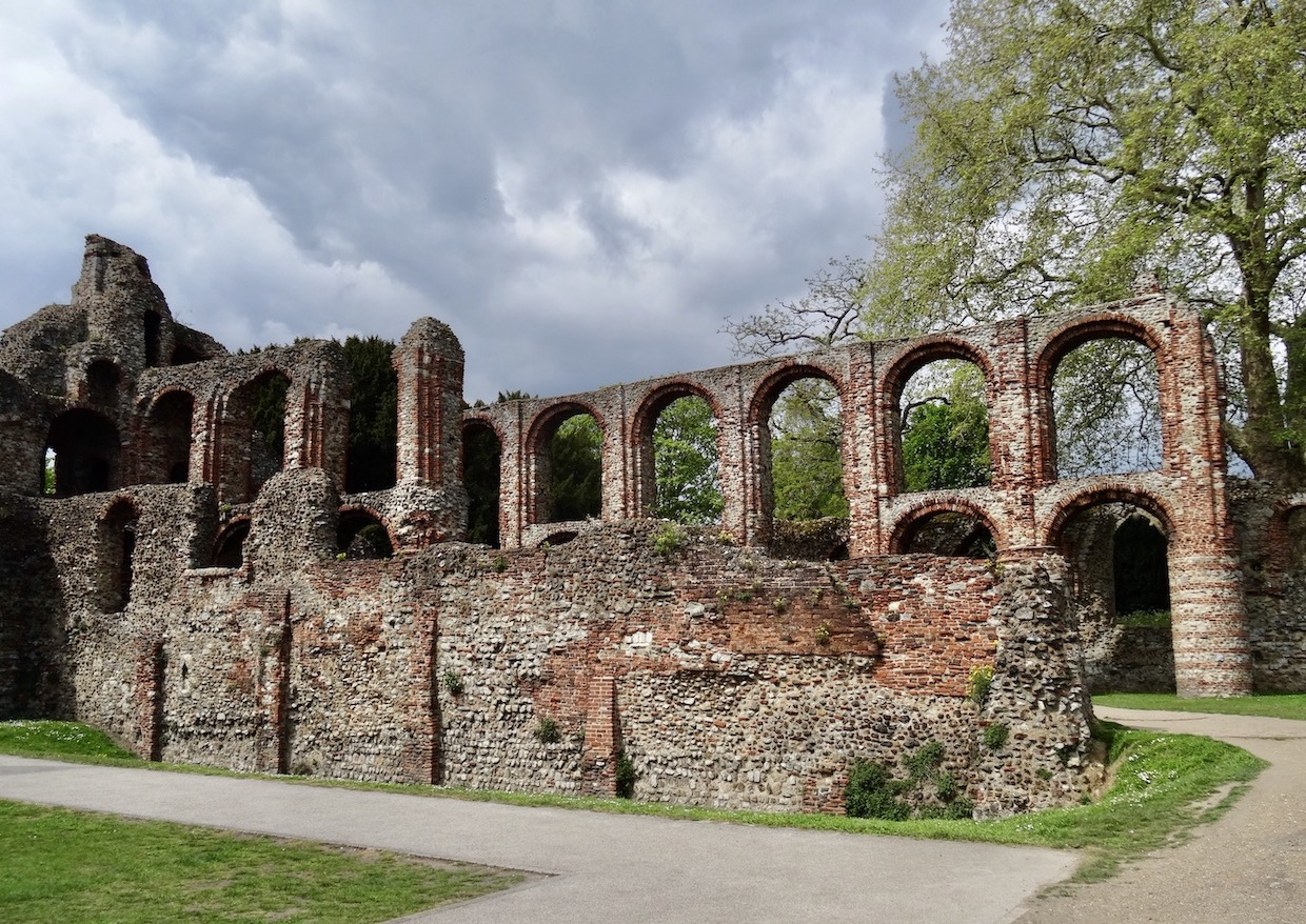St Botolph's Priory.