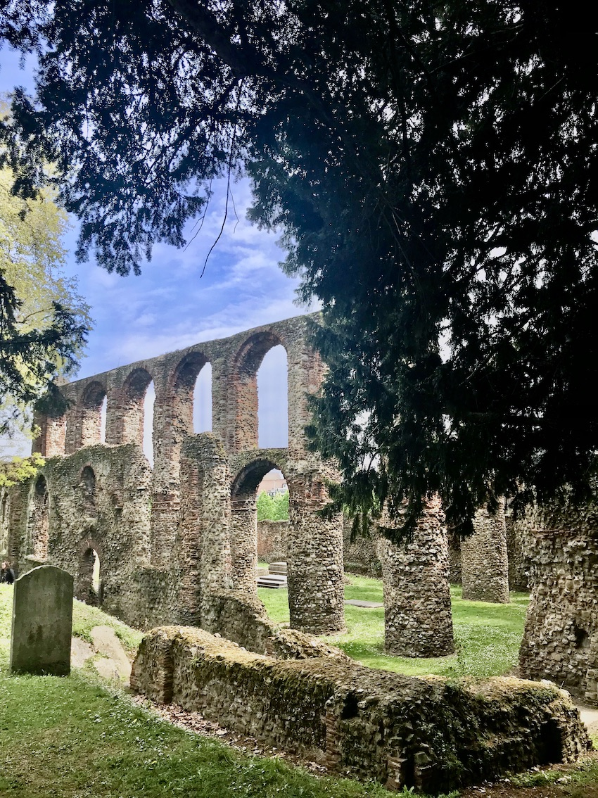 St Botolph's Priory in Colchester.