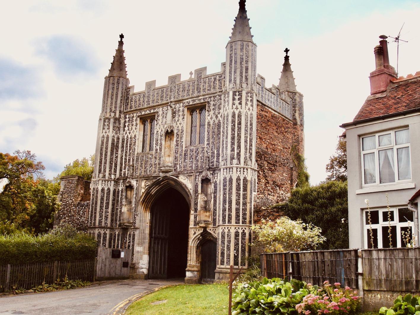 St John's Abbey Colchester.