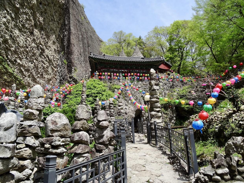 Tapsa Temple Maisan Mountain.