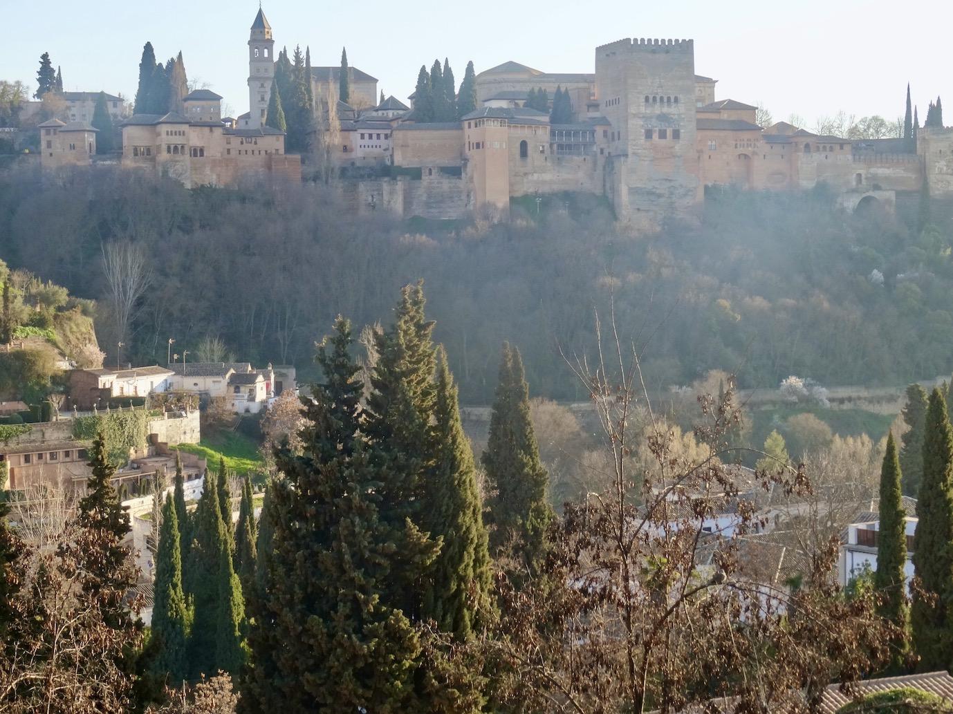 The Alhambra Granada.