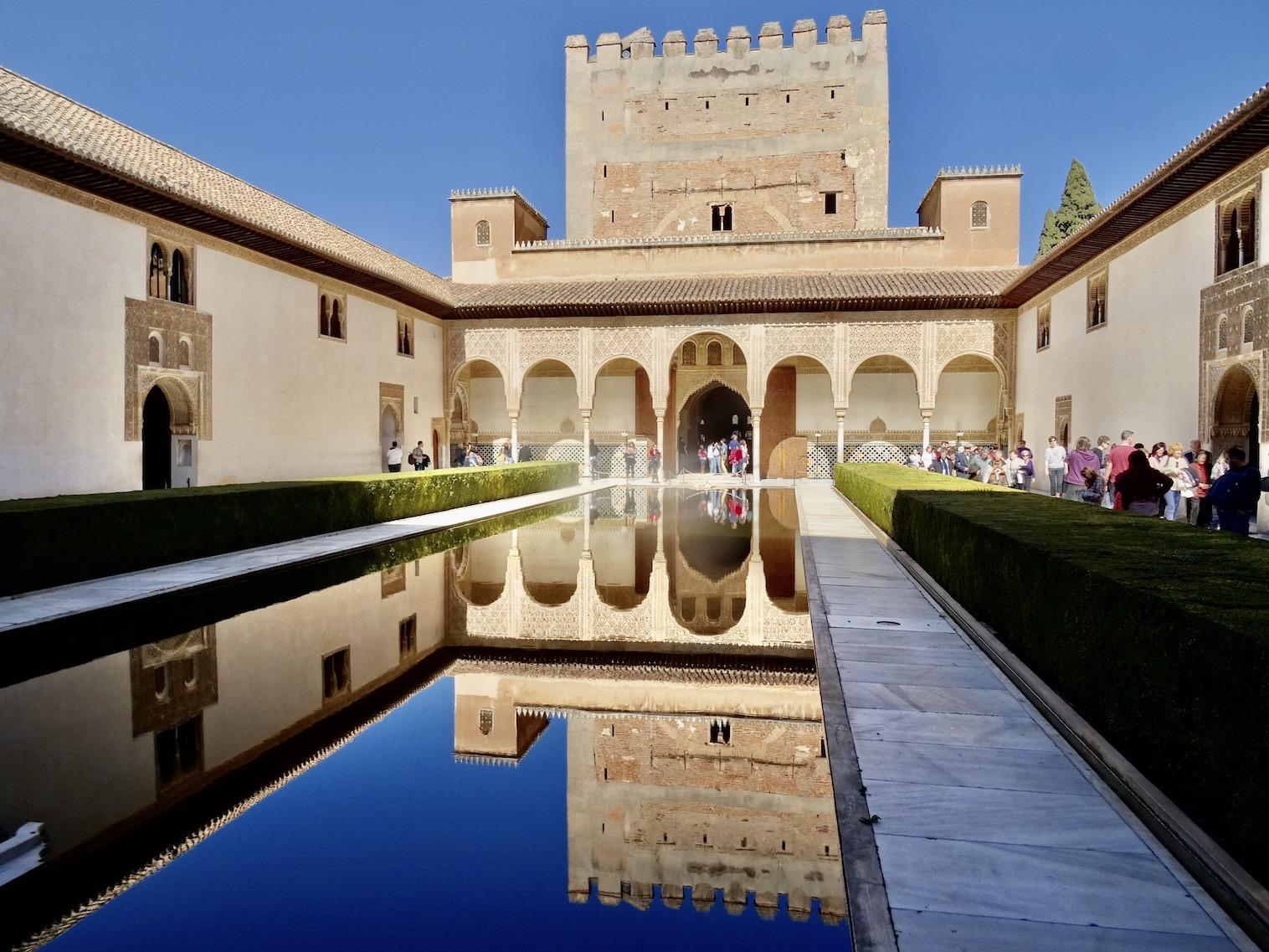 The Alhambra Granada Spain.