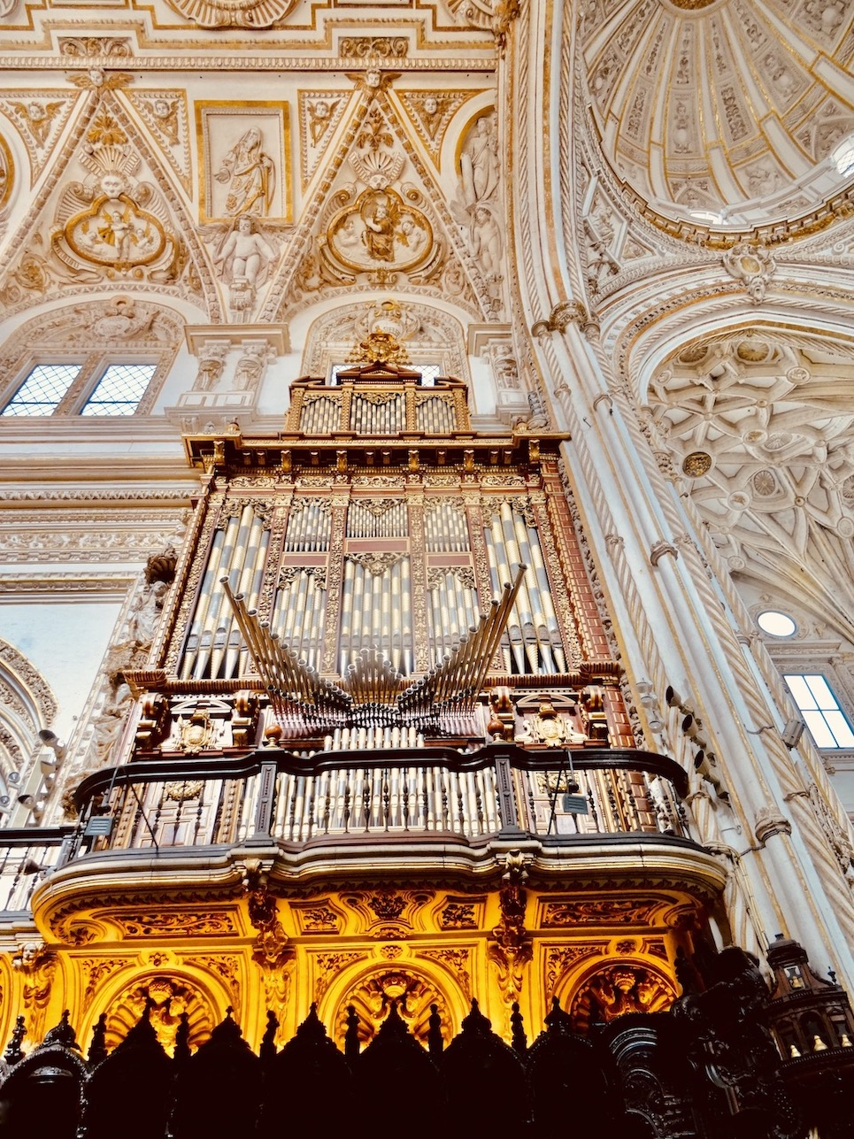 The Cathedral of Cordoba.