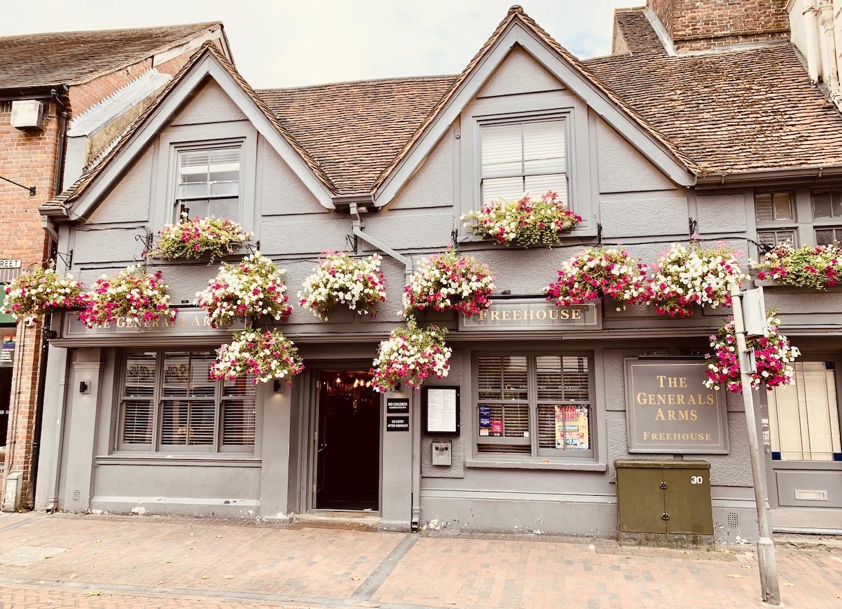 The Generals Arms Pub Chesham.