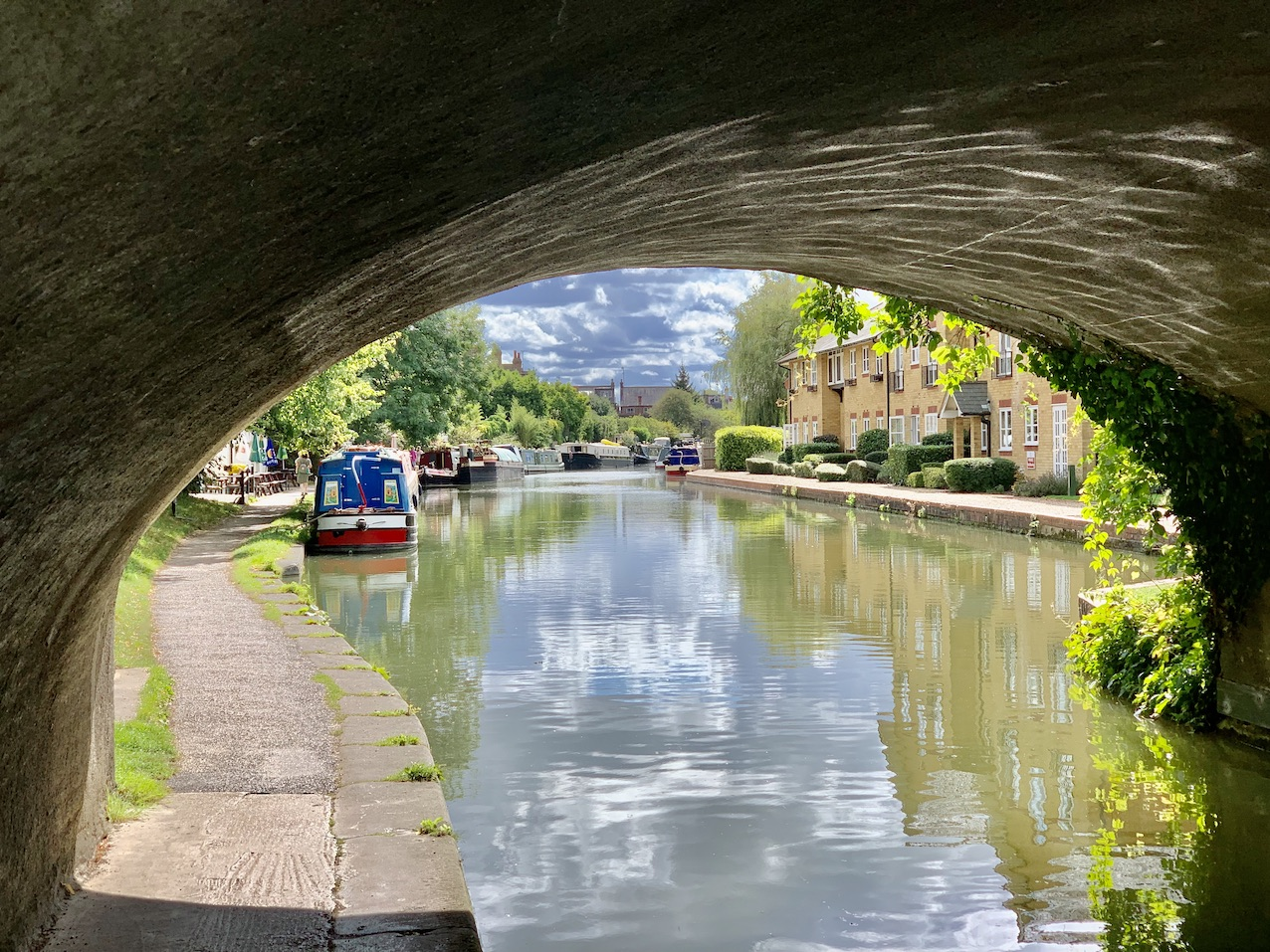 The Grand Union Canal in Berkhamstead.