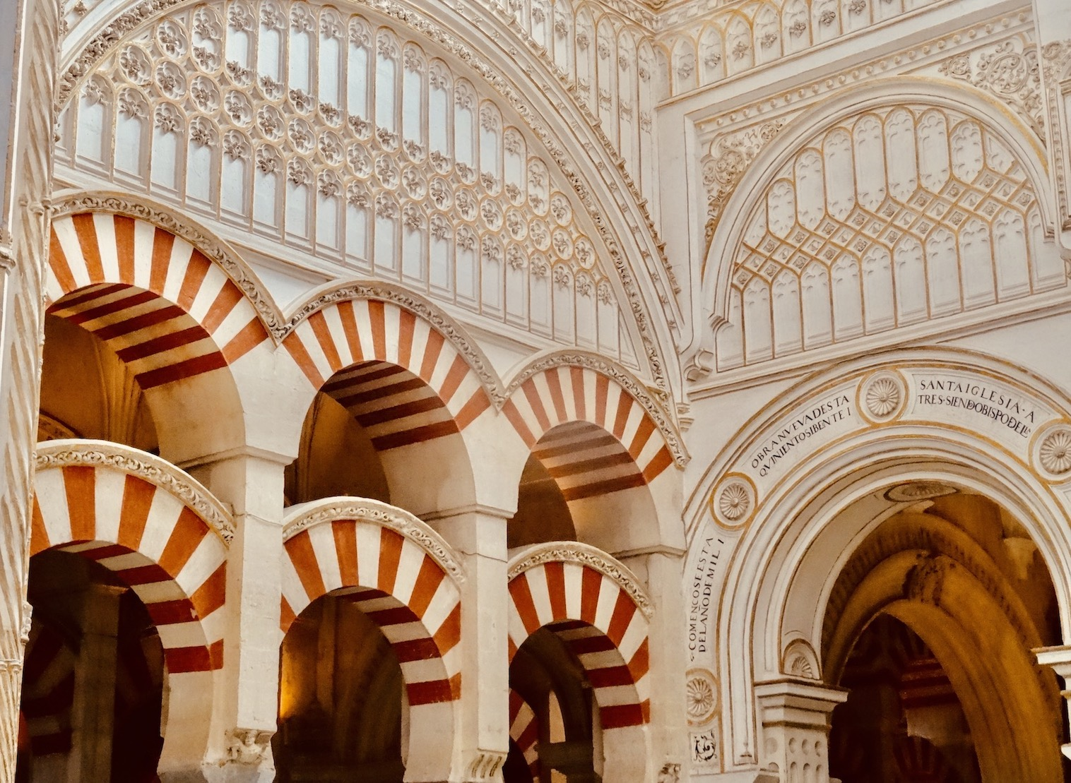 The Great Mosque Cathedral of Cordoba.