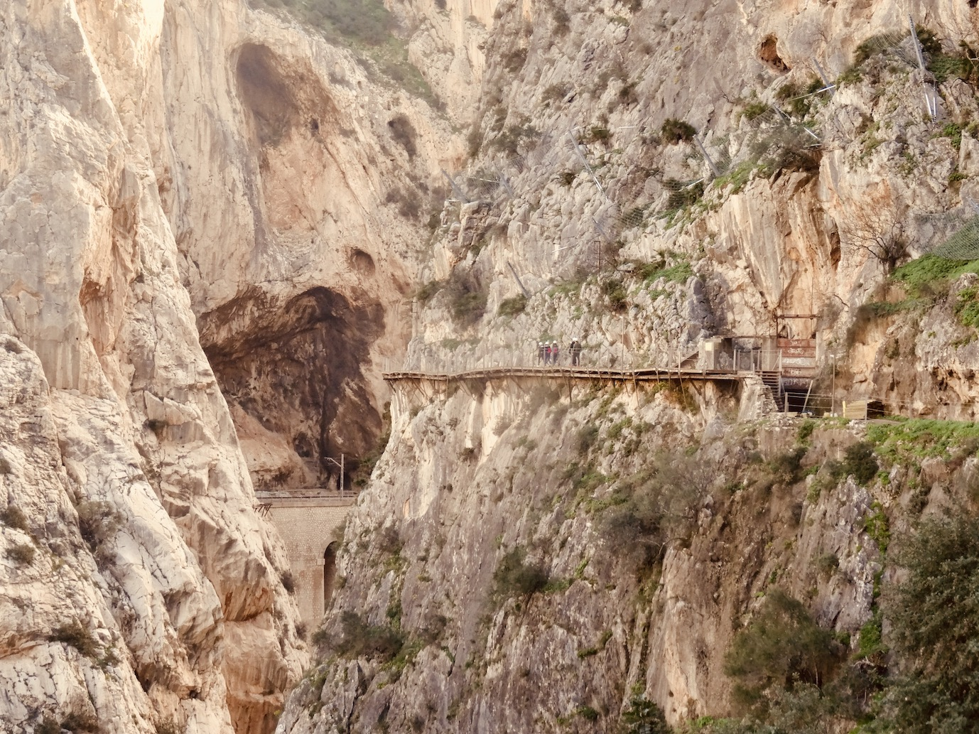 The King's Little Path in Spain.