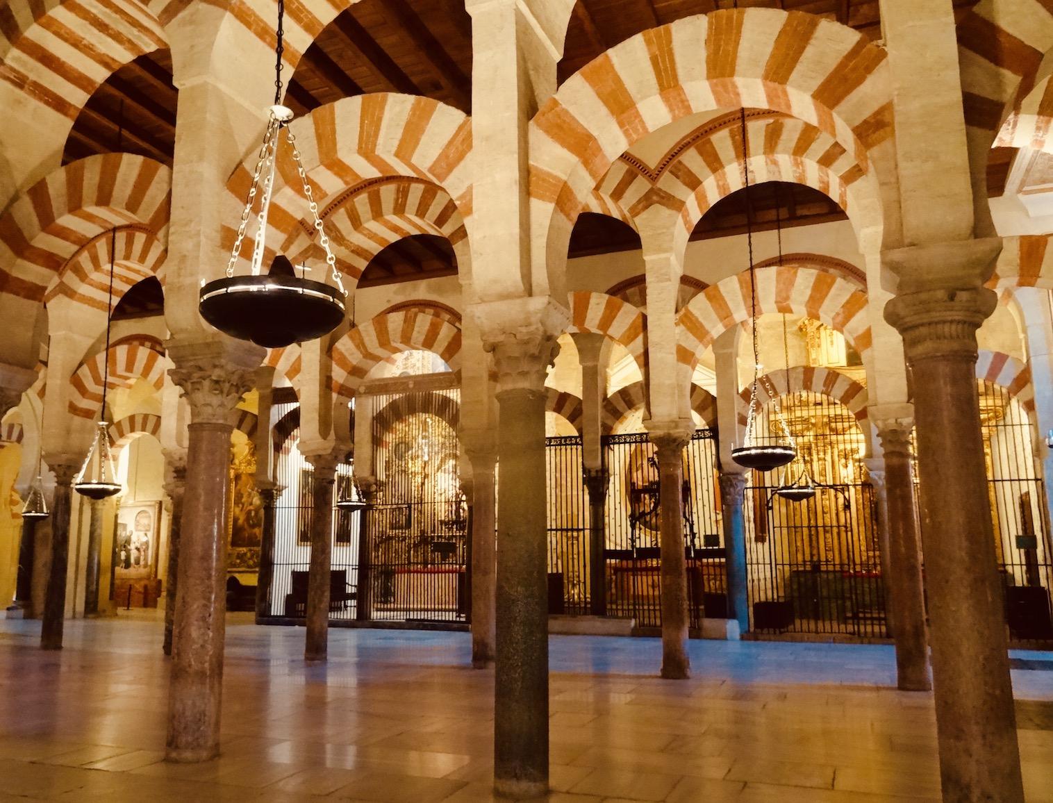 The Mezquita Cordoba Spain.
