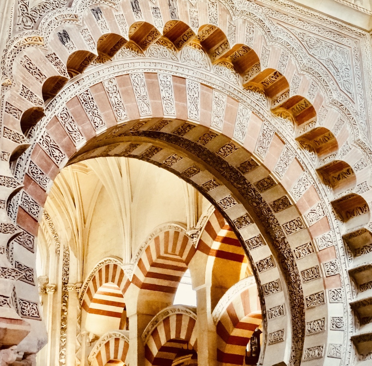 The Mezquita in Spain.