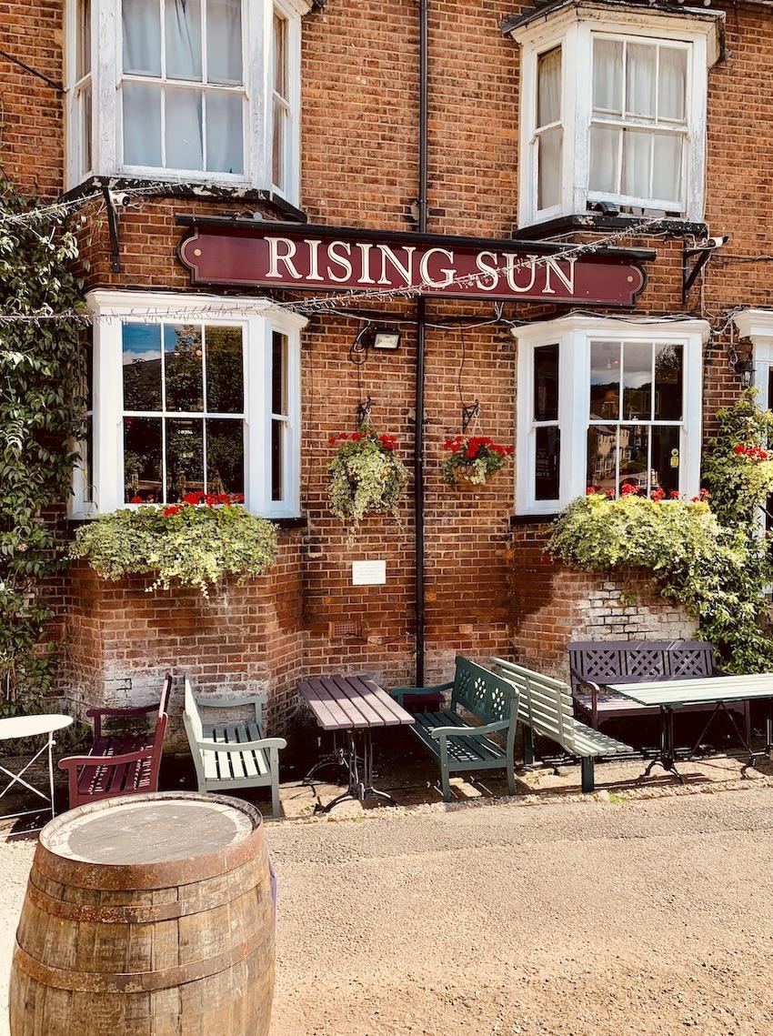 The Rising Sun Pub Berkhamstead.