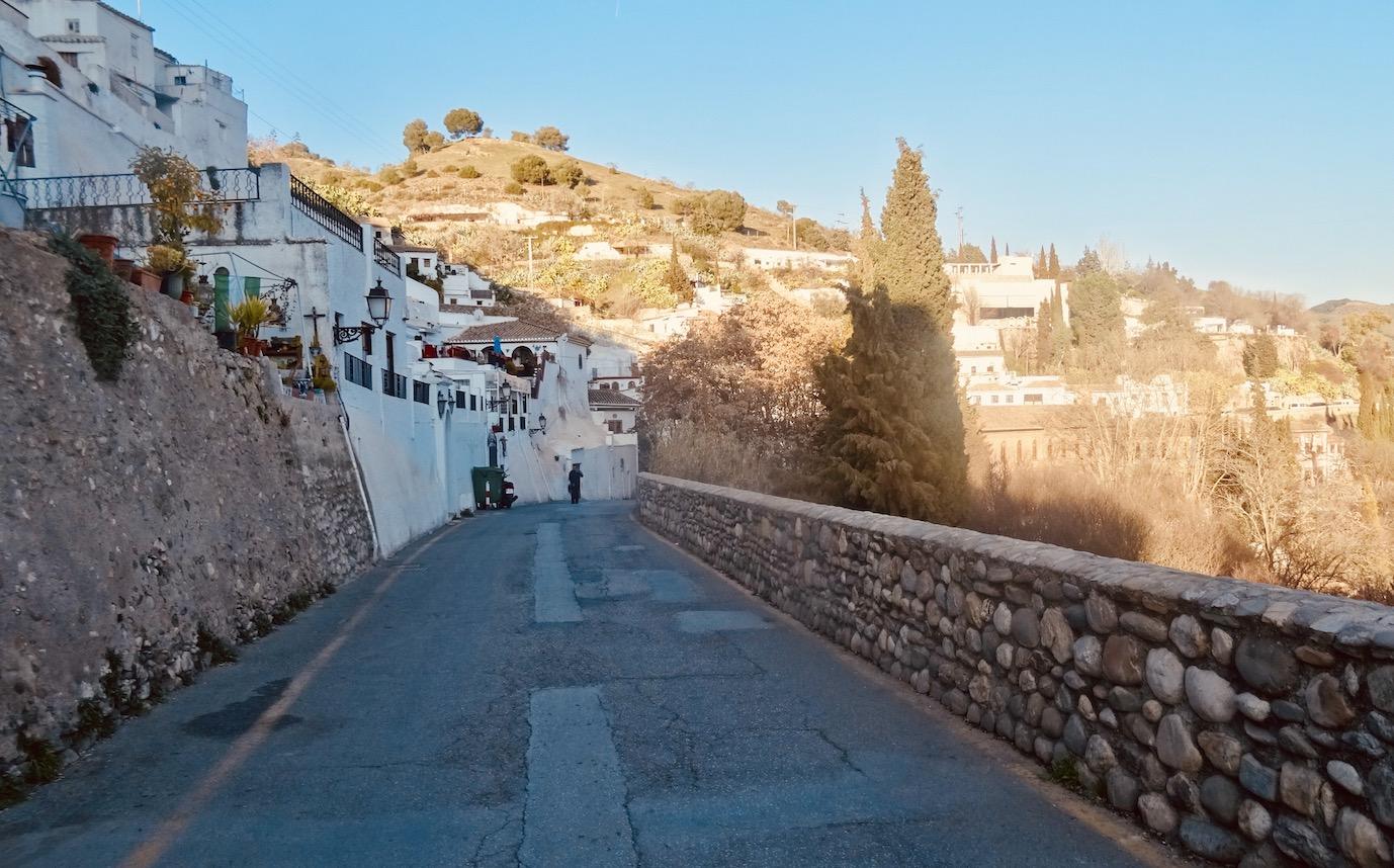 The Sacromonte neighbourhood of Granada.