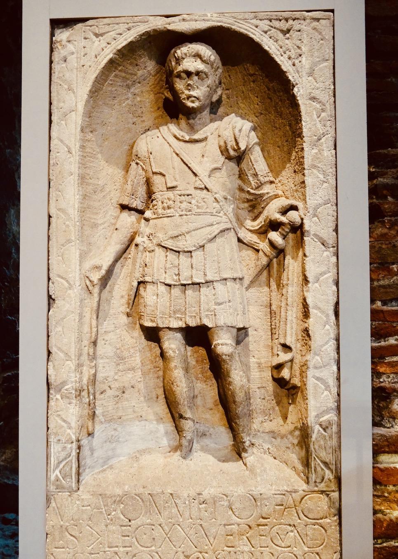 Tombstone of Marcus Favonius Facilis.