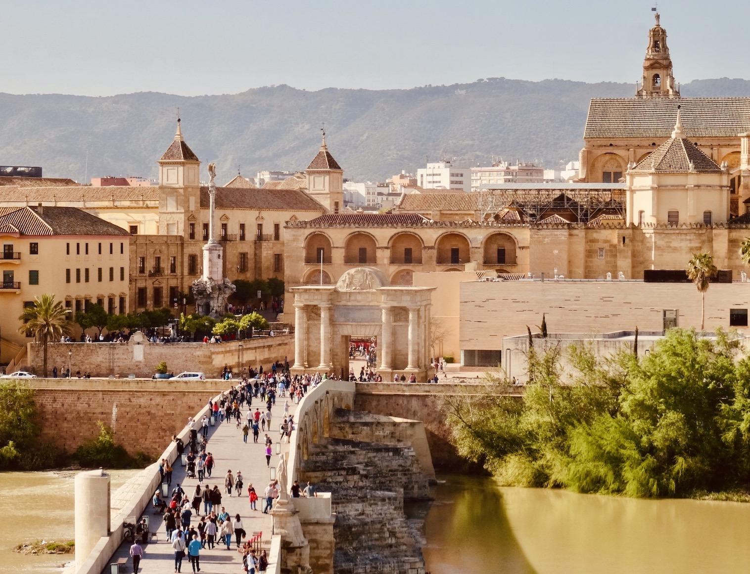 Visit Andalusia Roman Bridge Cordoba.