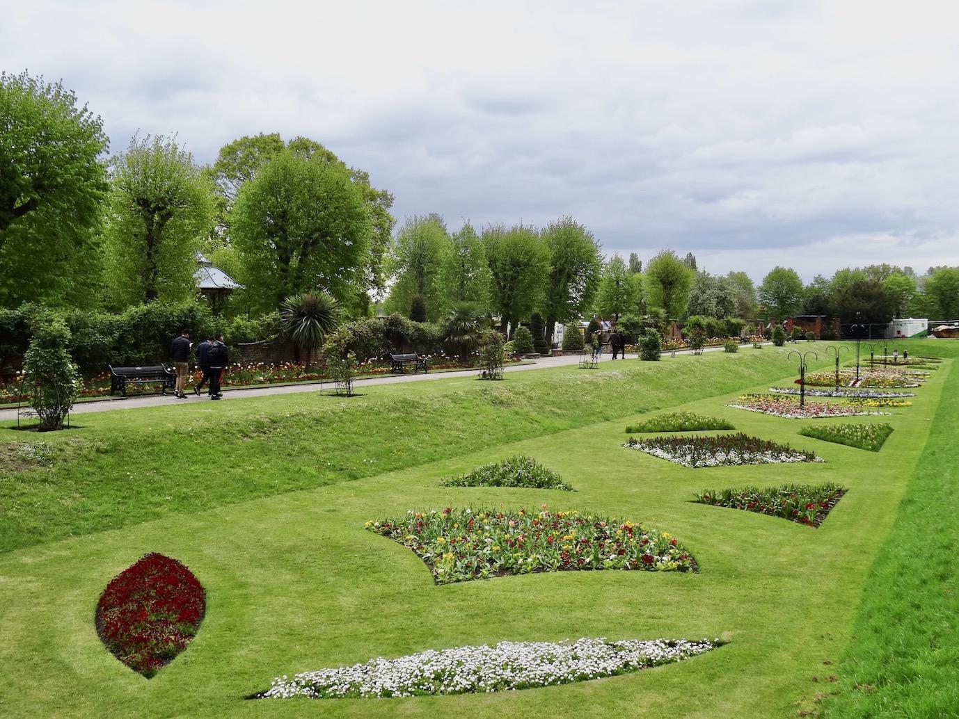 Visit Colchester Castle Park.
