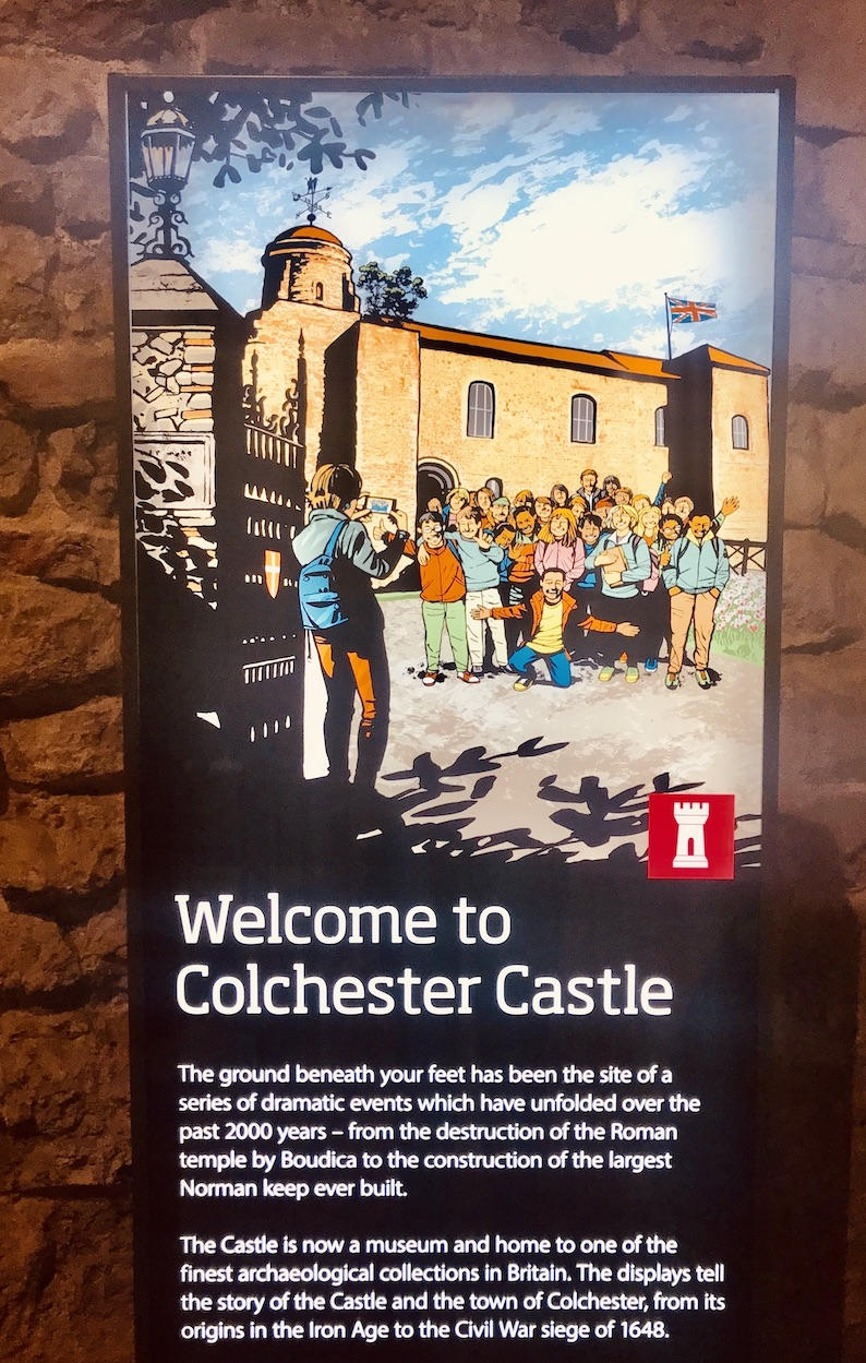 Welcome to Colchester Castle.