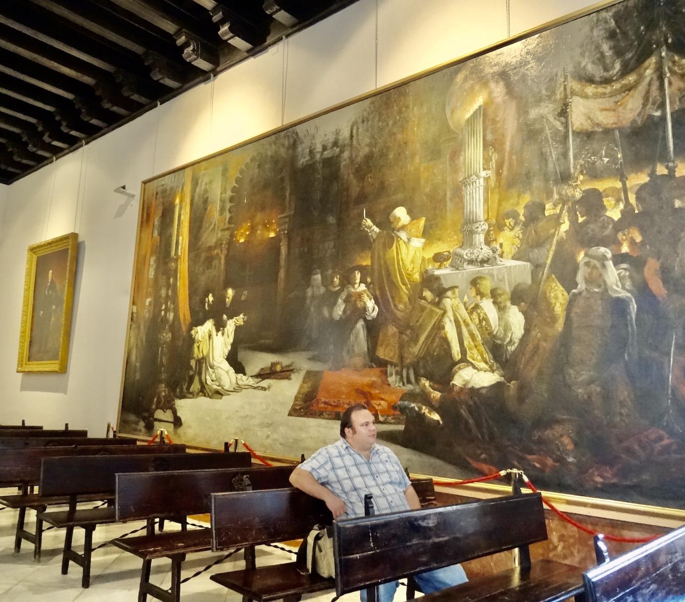 Admiral's Hall The Alcazar.