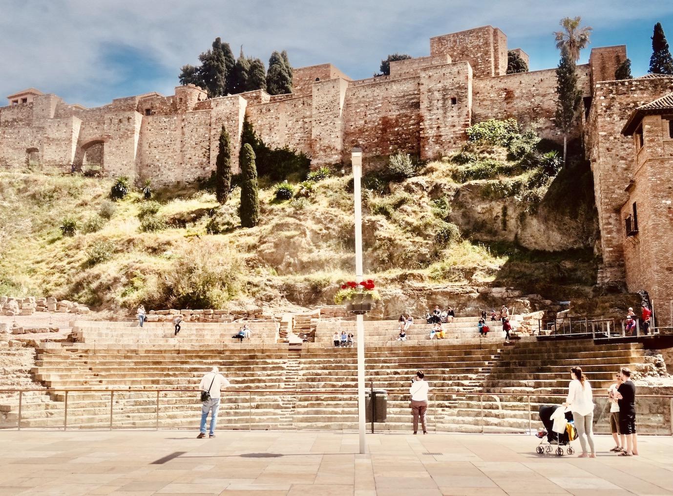 Alcazaba Fortress Malaga.