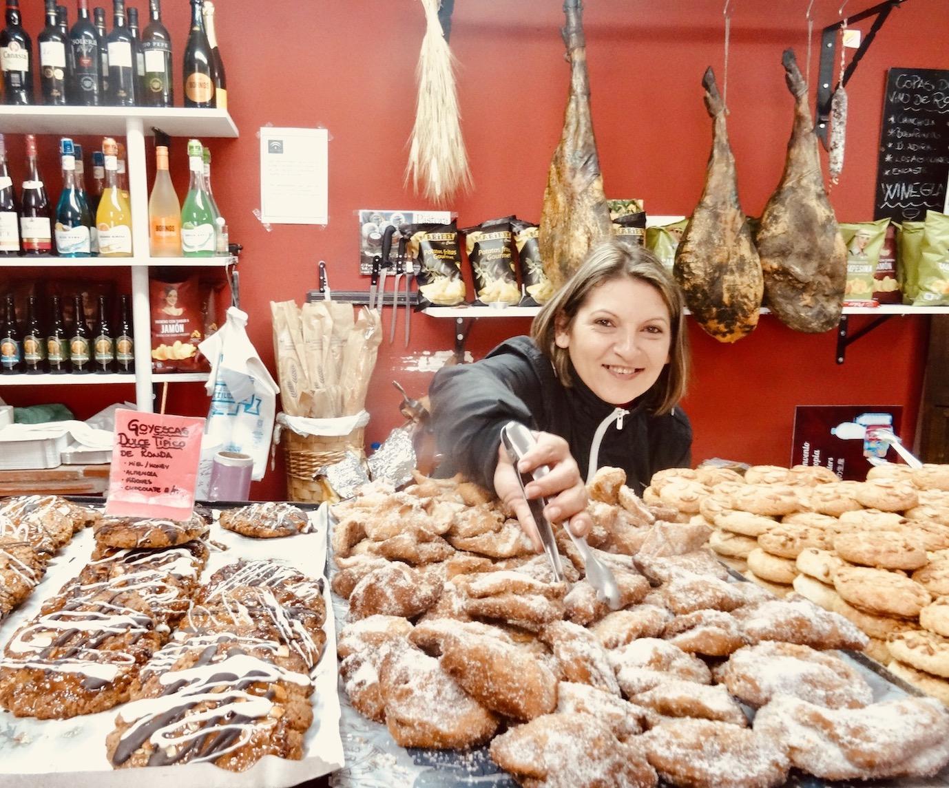 Bakery in Ronda.
