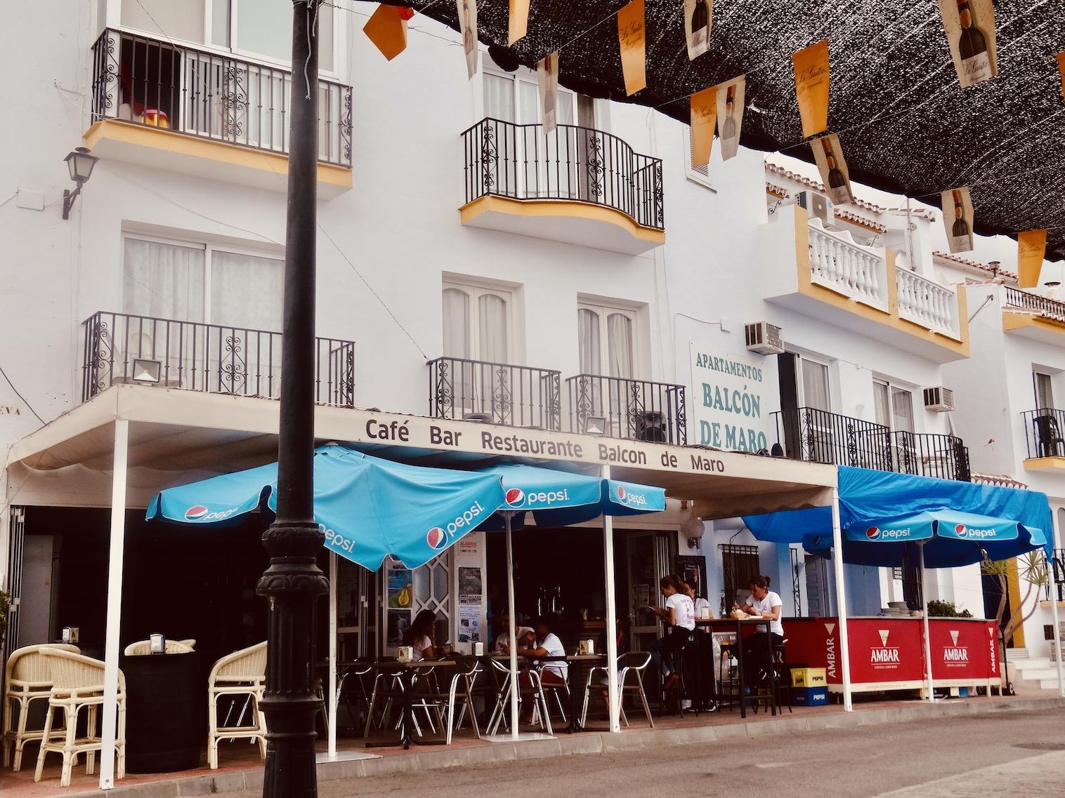 Balcon de Maro Restaurant.