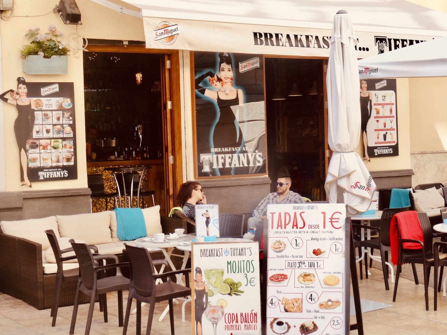 Breakfast at Tiffany's Cafe Malaga