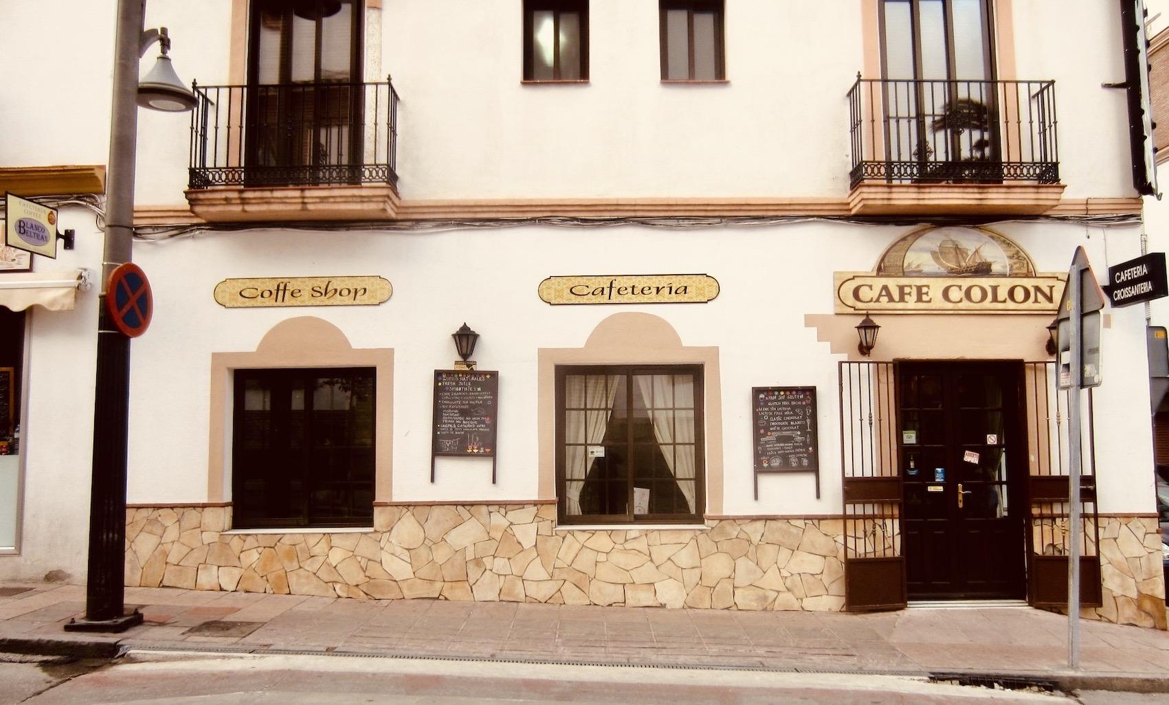 Cafe Colon Ronda.