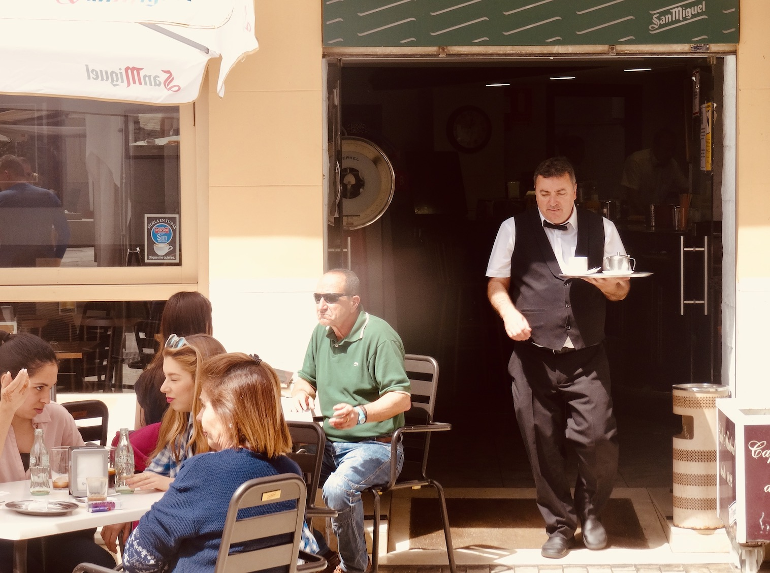 Cafe Madrid Where to Eat and drink Malaga.