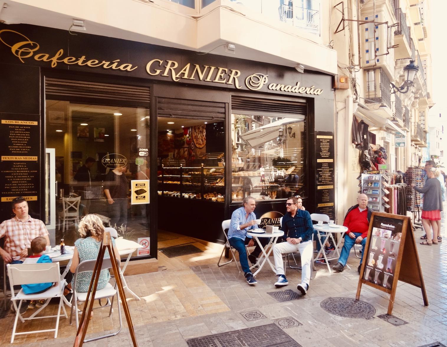Cafeteria Granier Panaderia Malaga.