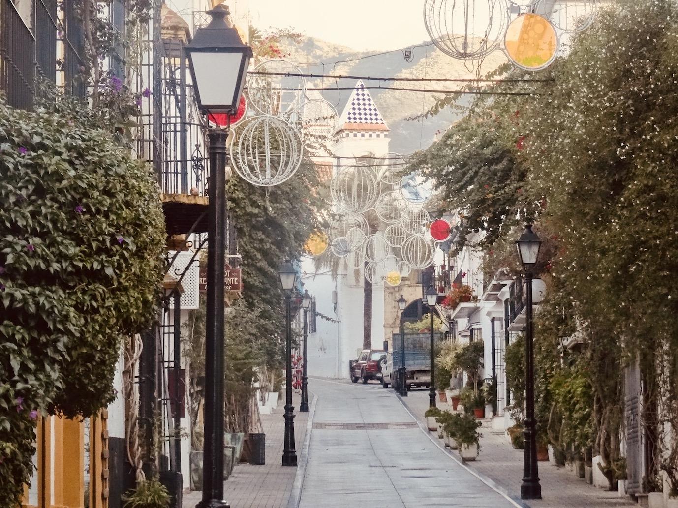 Calle Ancha Marbella.
