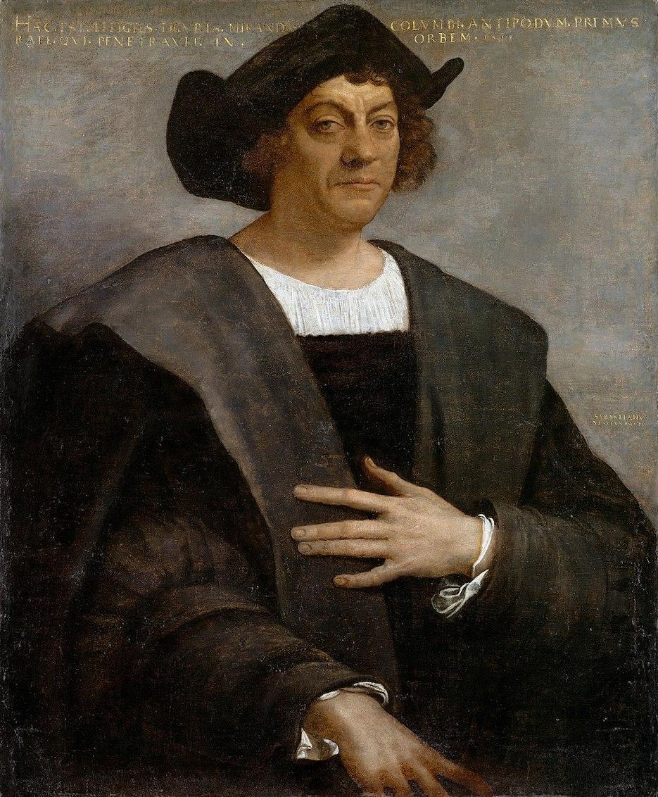 Christopher Columbus portrait.