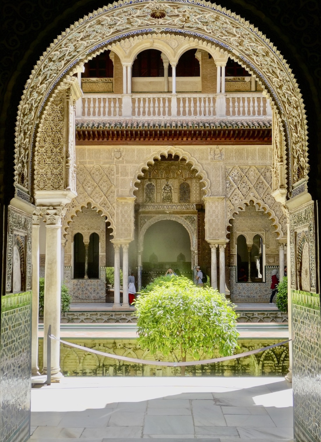 Courtyard of The Maidens The Alcazar.