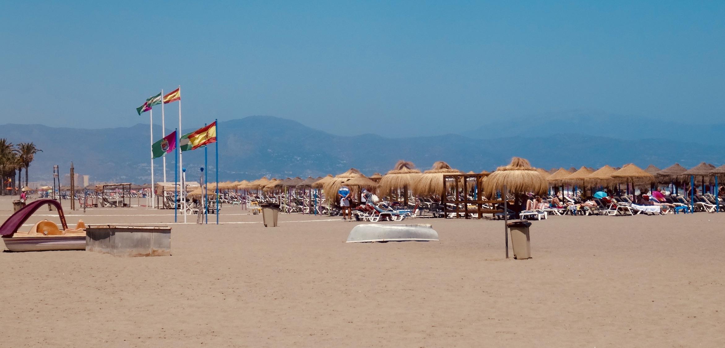 Del Lido Beach Torremolinos.
