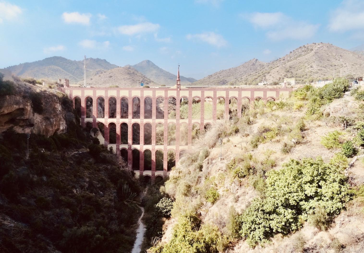 Eagle Aqueduct Nerja Costa del Sol.