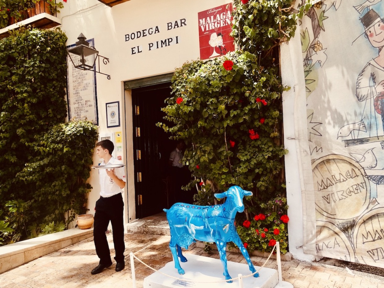 El Pimpi Restaurant Malaga.