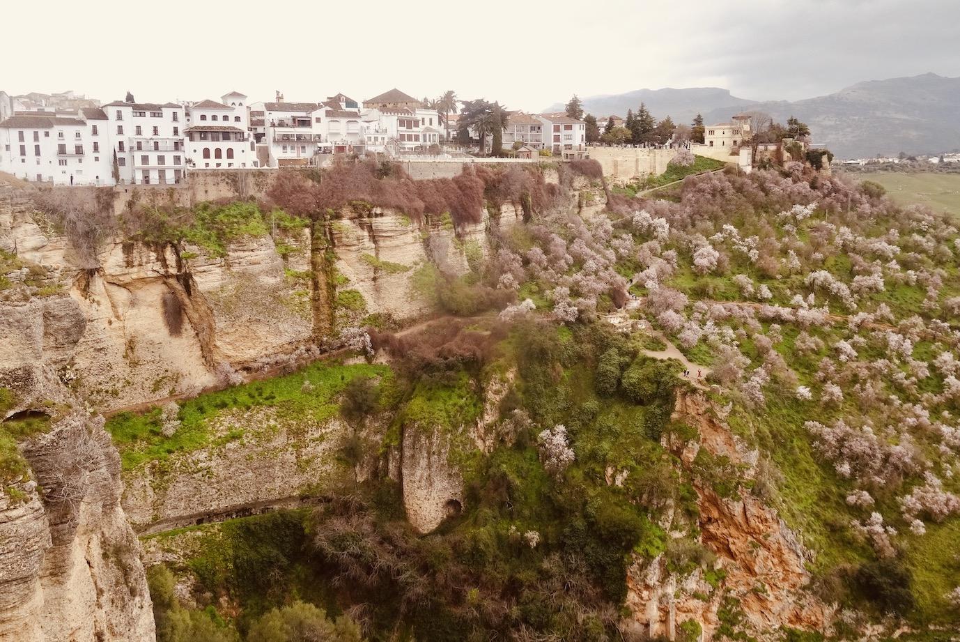 El Tajo Gorge Ronda Spain.