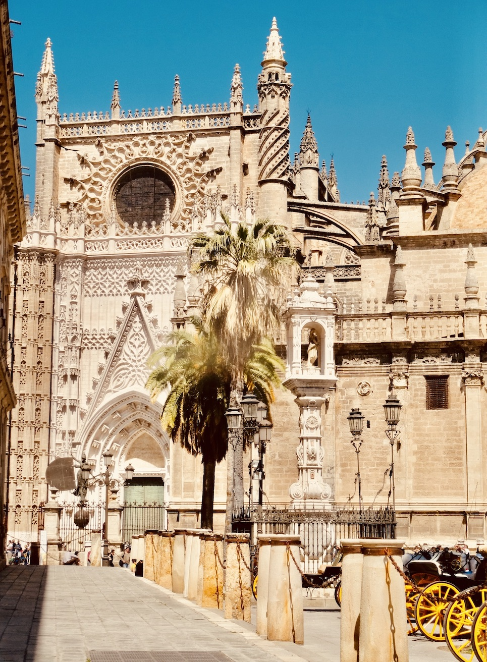 Exterior Seville Cathedral.