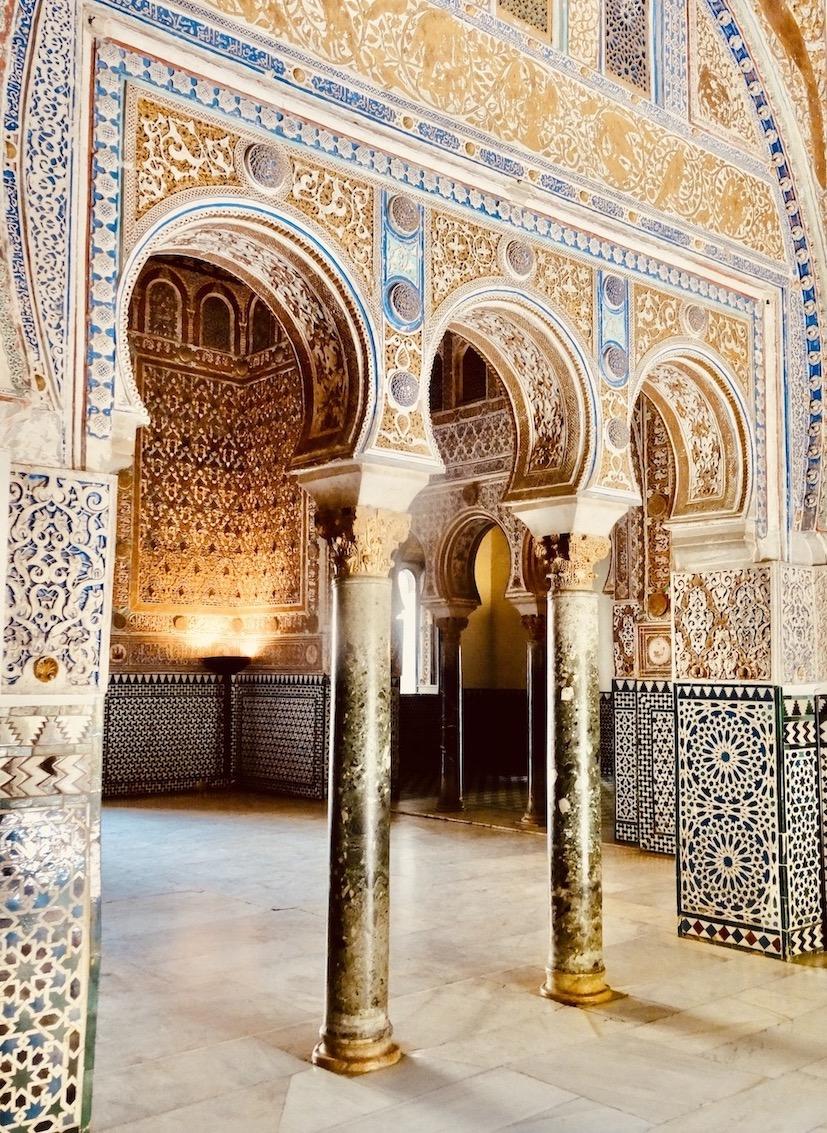 Felipe II Ceiling room The Alcazar.