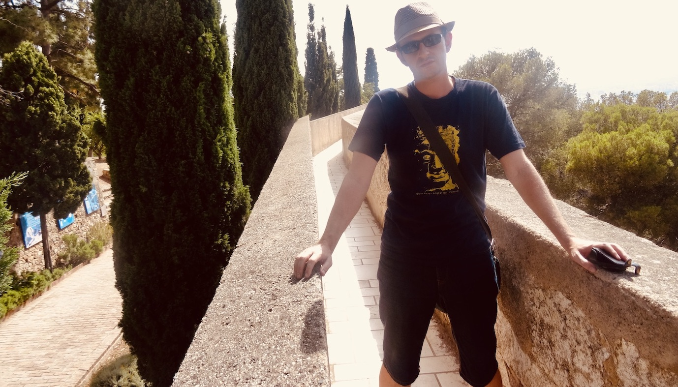 Gibralfaro Castle Malaga.