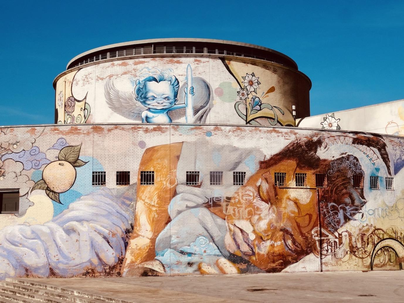 Graffiti in Seville.