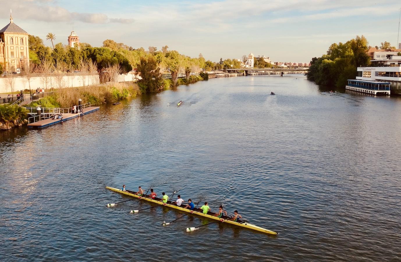 Guadalquivir River Seville.