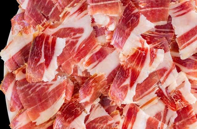 Iberian Ham Malaga.