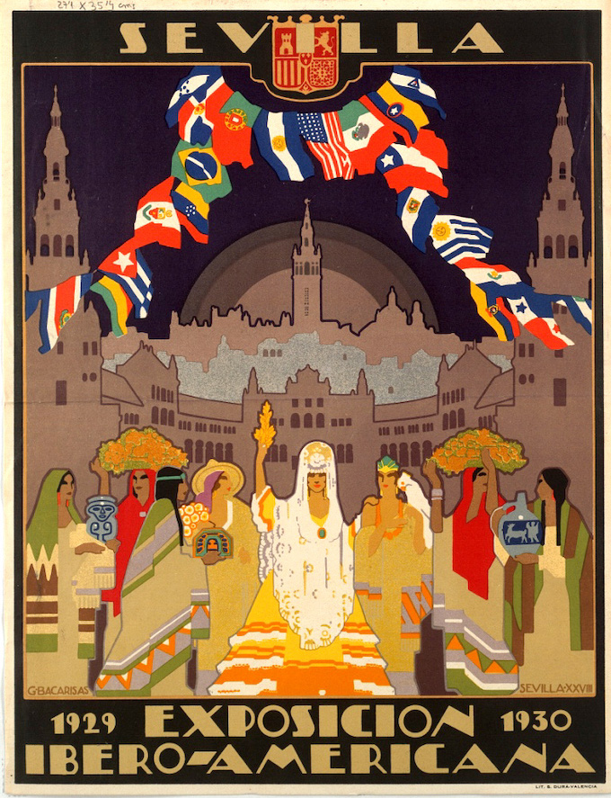 Ibero-American Exposition of 1929 in Seville.