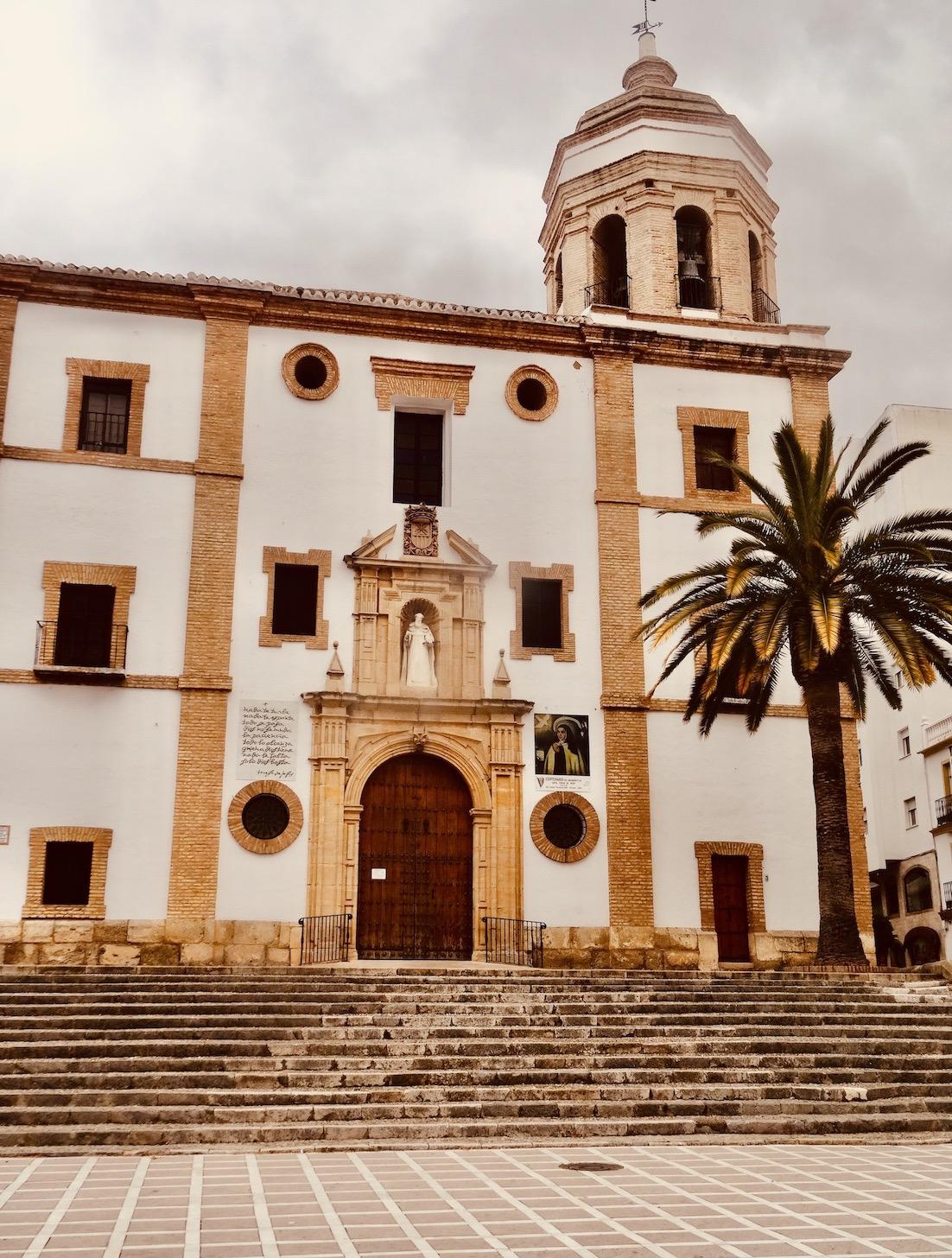 Iglesia de Nuestra Senora de la Merced Ronda Spain.
