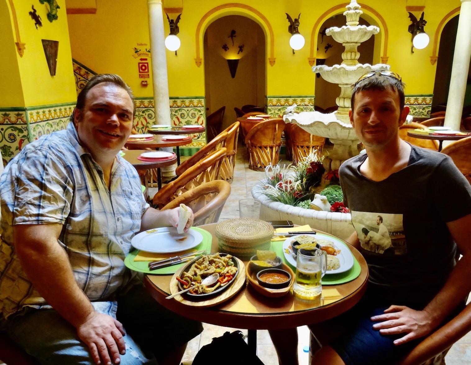 Iguanas Ranas Mexican Restaurant Seville.
