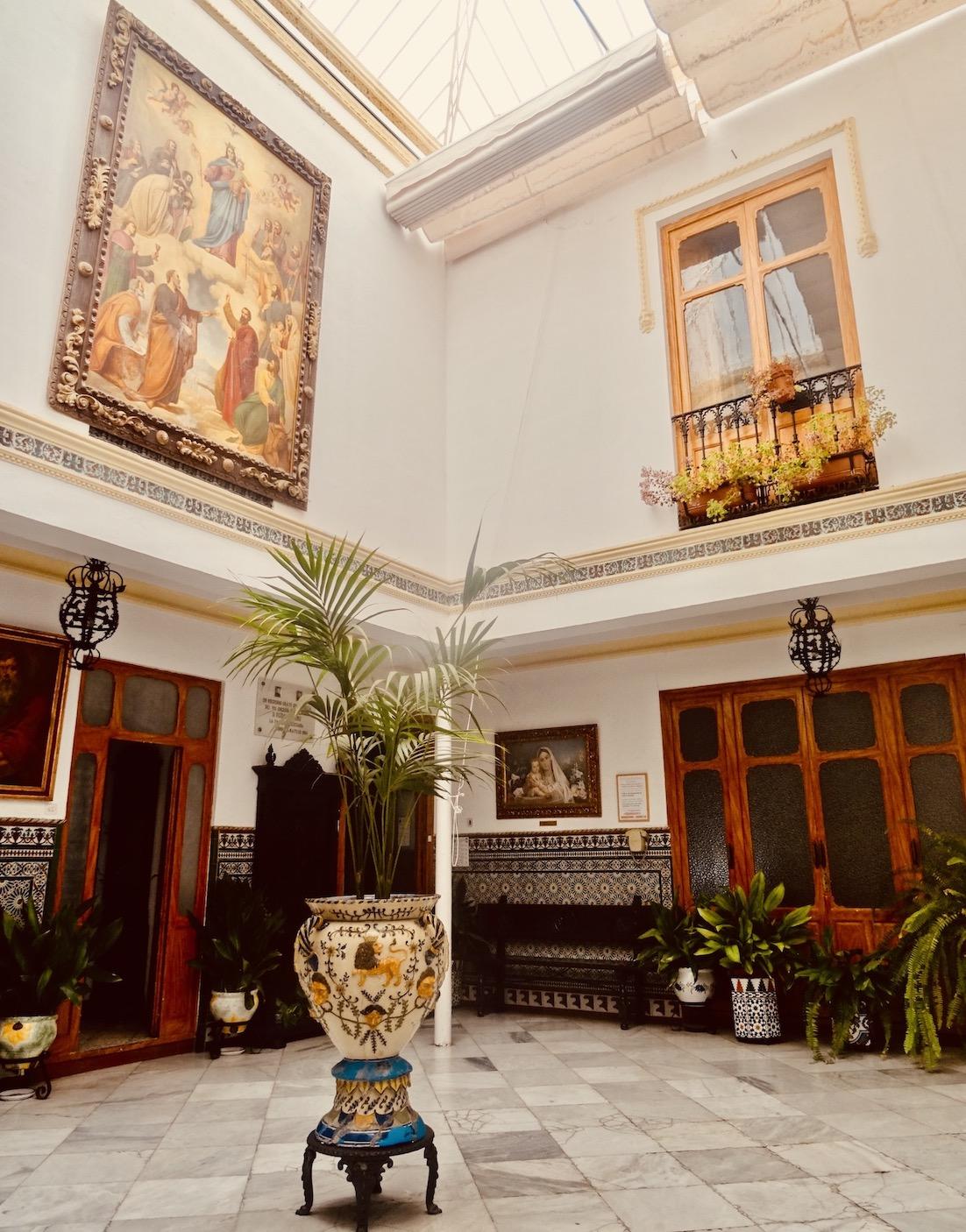 Inside Casa don Bosco Ronda.