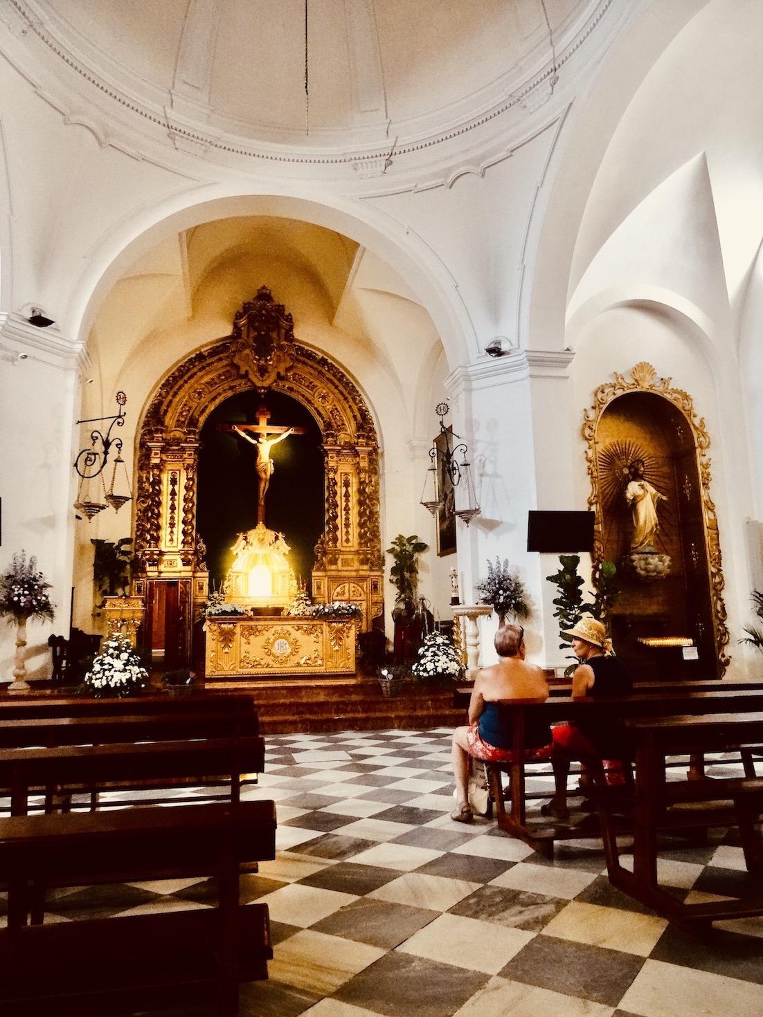 El Salvador Church Nerja.
