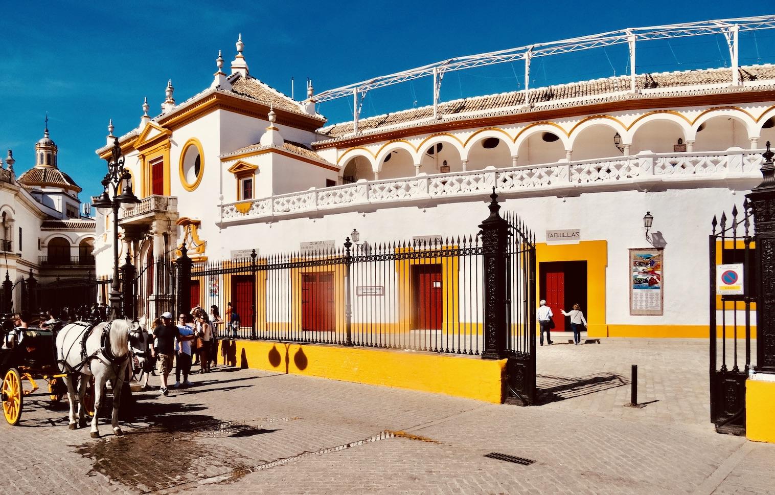 Maestranza Bullring Seville.